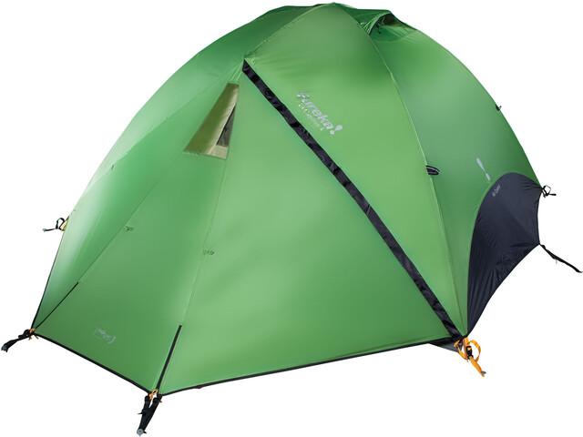 Eureka! El Capitan 4 Air Control Tent piquant green/charcoal